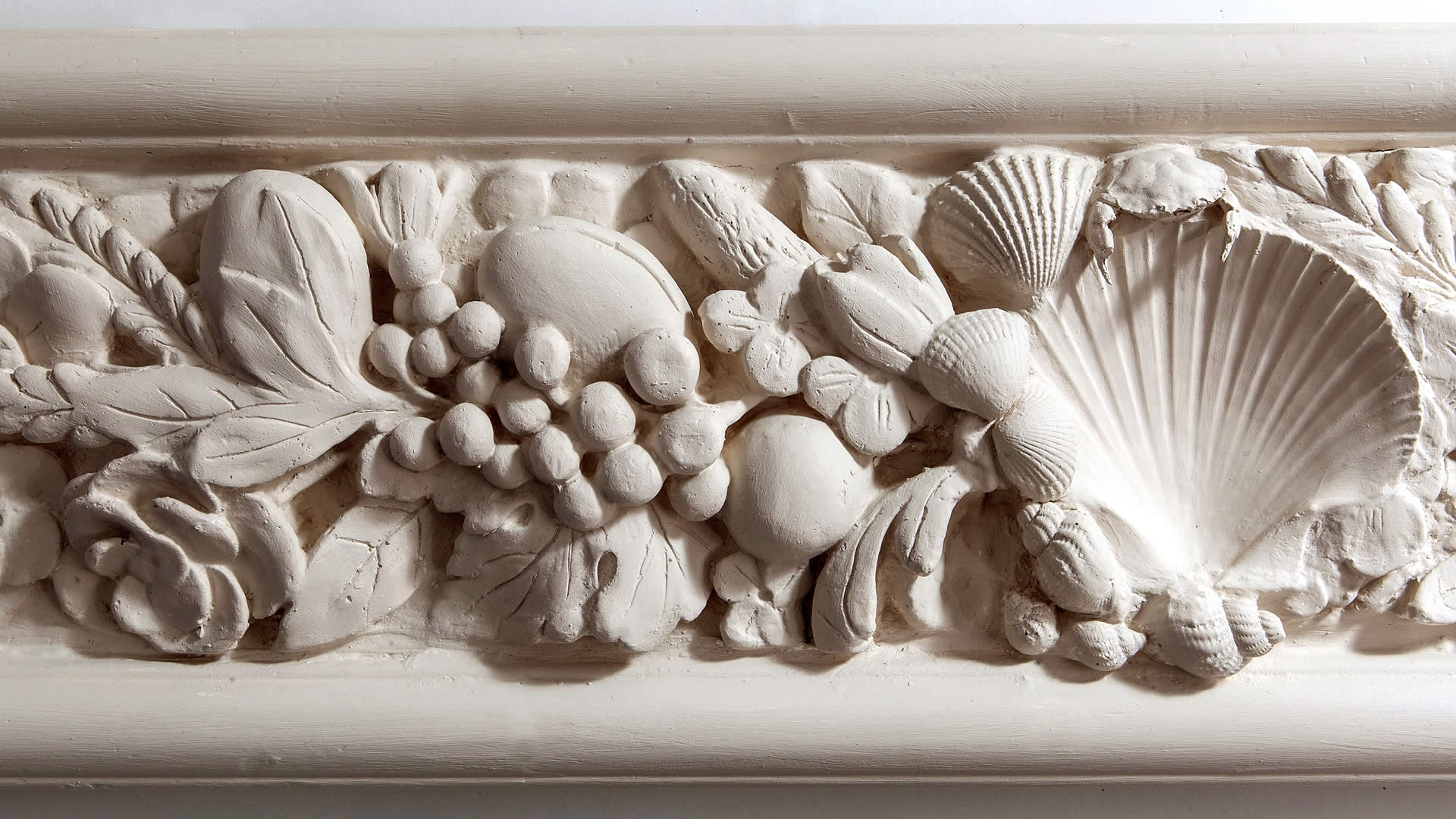 Flora Frieze - Architectural Features