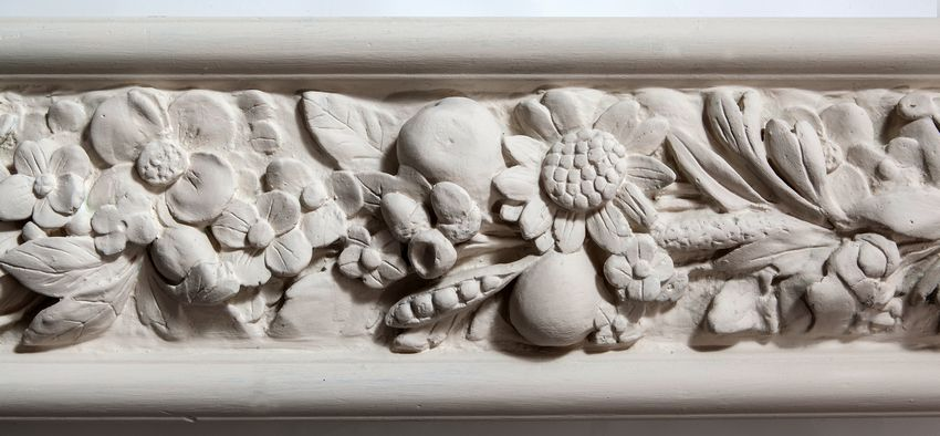 Flora Plaster Frieze